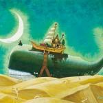Whale in Desert