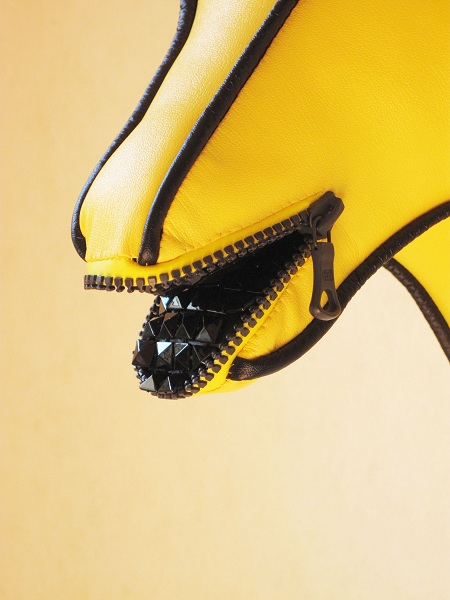 Fabric Trophy - Fastener Line (Yellow)