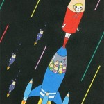 Rocket Pencil -Go over there beyond my world-